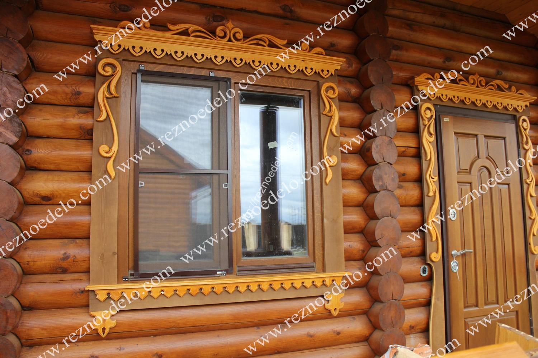 фото наличников на деревянные двери