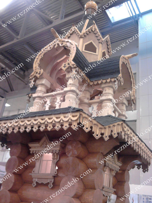 изготовление деревянных наличников в мастерской Резное Дело