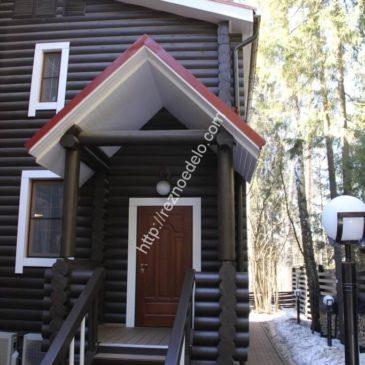 Оформление наличниками частного дома в г. Истра