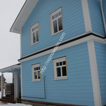 Оформление наличниками частного дома в г. Калуга