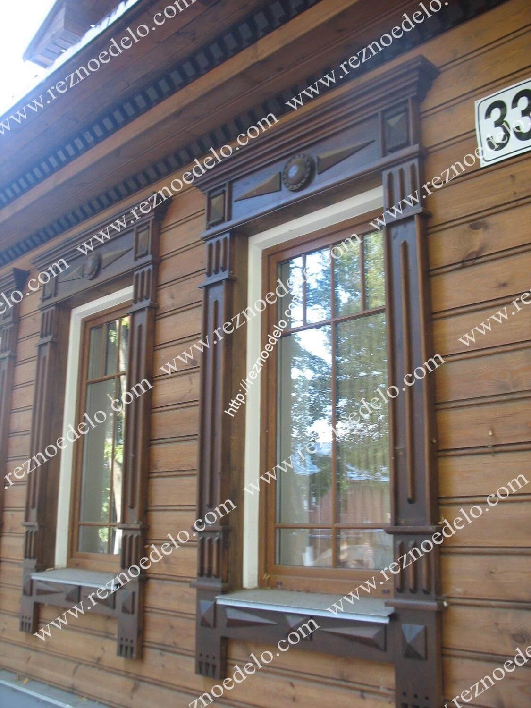 деревянный наличник в москве