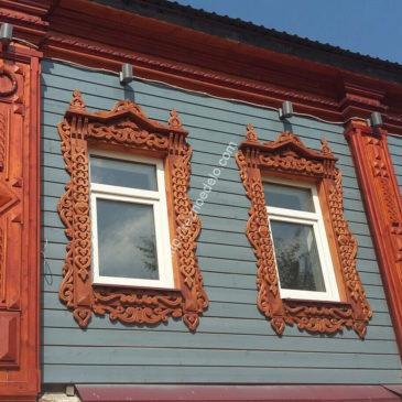 Проект «Киржач 2» — резной декор и наличники